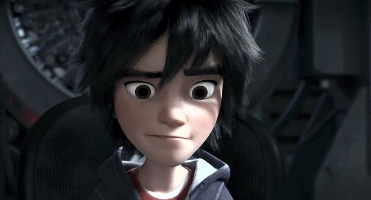 Ryan Potter Hiro Hamada of Big Hero 6