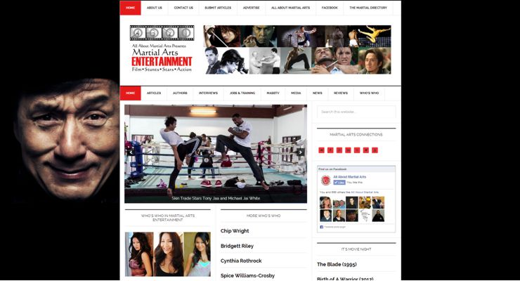 All About Martial Arts Entertainment