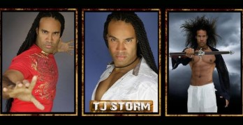 """TJ Storm Working on """"The Martial Arts Kid"""""""