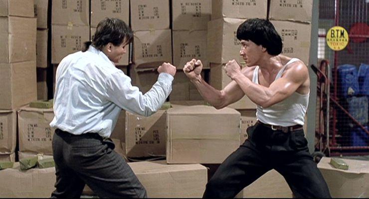 Benny Urquidez Reunites with Jackie Chan