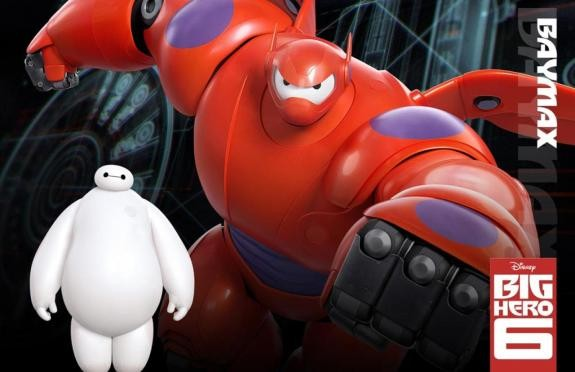 Baymax in Big Hero 6 (Voiced by Scott Adsit)
