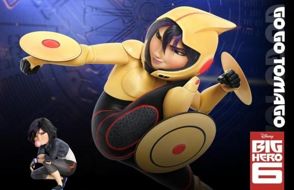 Go Go Tomago in Big Hero 6 (Voiced by Jamie Chung)