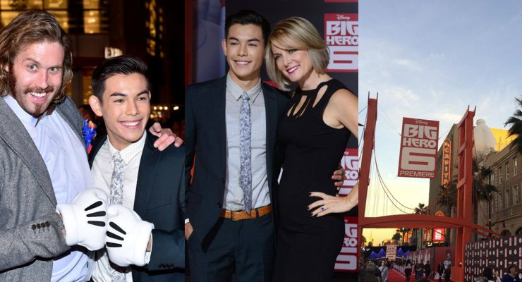 "Disney's ""Big Hero 6″ premiere on Nov. 4 at El Capitan"