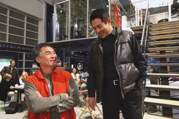 Corey Yuen and Jet Li in War in 2007