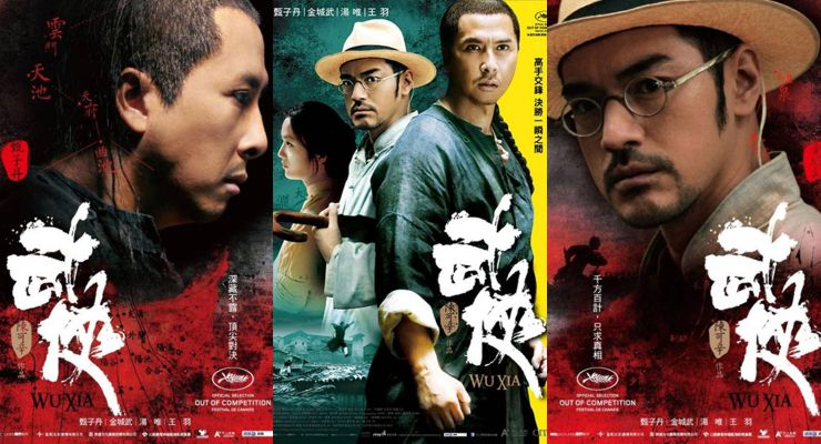 Wu xia or Dragon (2011) Posters