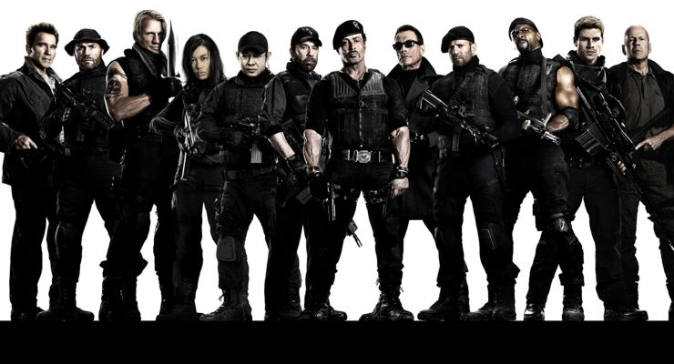 Expendables 2: Action Film Heros