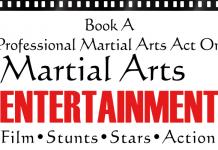 Book ACTs through Martial Arts Entertainment