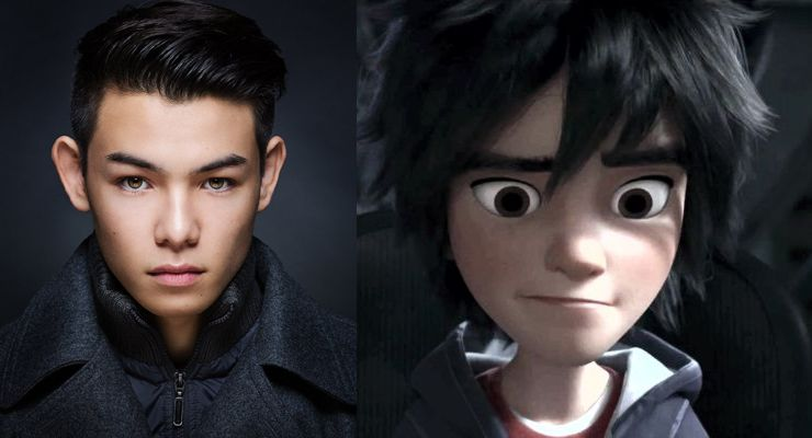 Ryan Potter Hiro Hamada Big Hero 6