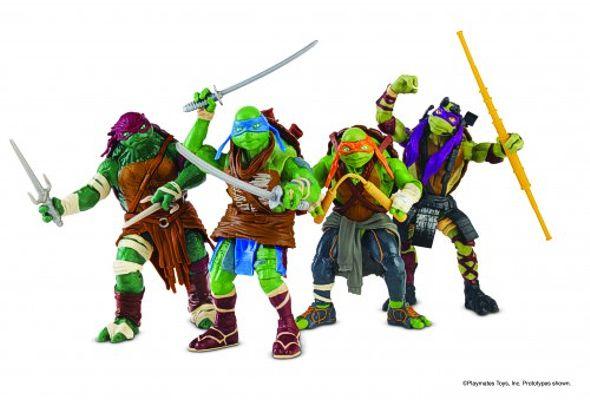 Teenage Mutant Ninja Turtles Movie Action Figures & Toys