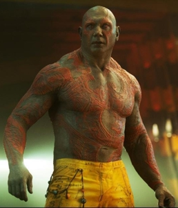 Dave Bautista in Guardians of the Galaxy (2014)