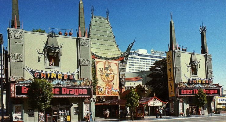 Enter The Dragon Premiere at Grauman's Chinese Theater