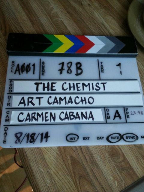On the set of Assassin X aka The Chemist