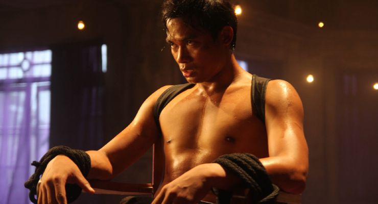 Tony Jaa in Warrior King 2 (2013)