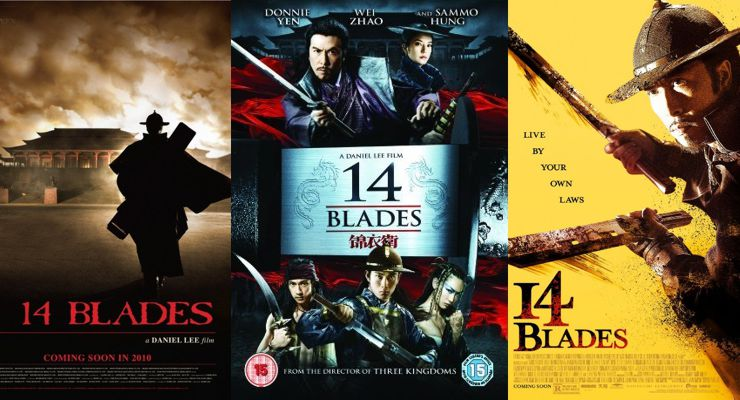 14 Blades (2010) Movie Posters