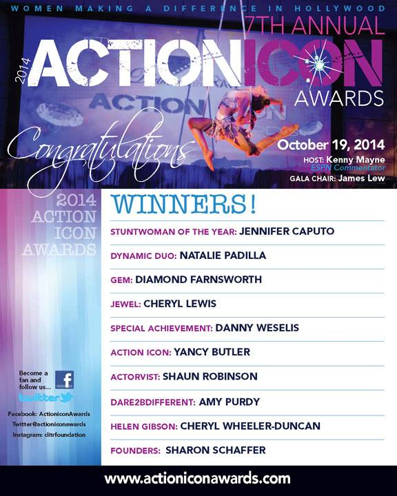 7th Action Ion Award Winners