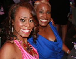 Founder LaFaye Baker and Cherie Oysaifo