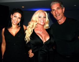 Crystal Santos, Julie Michaels and PeeWee Piemonte