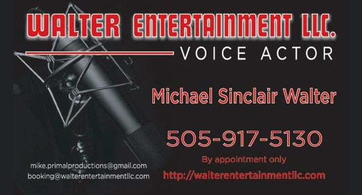 Michael Sinclair Walter Voice Over Talent