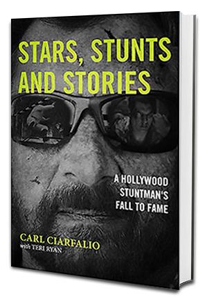 Stars, Stunts and Stories: One Man's Fall to Fame Cover