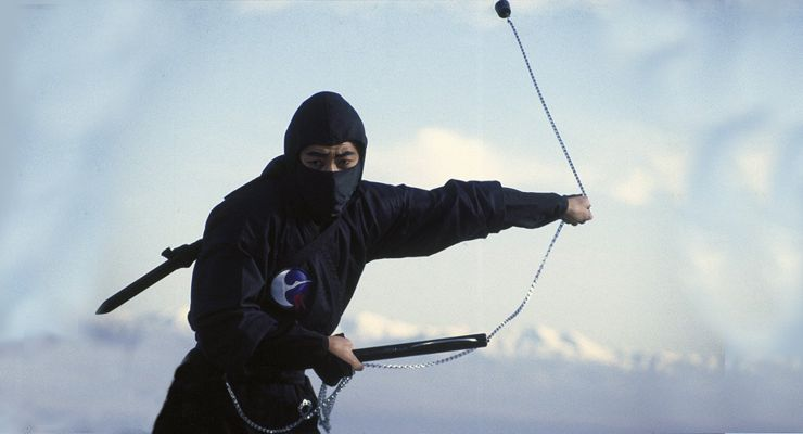Sho Kosugi in Revenge of the Ninja