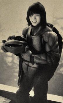 Steven Ho as Ninja Turtle Donatello