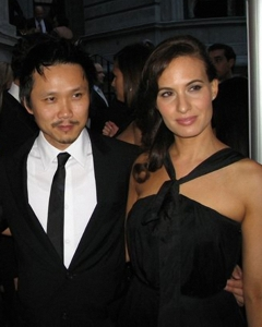 Steven Ho and Nina Petronzio