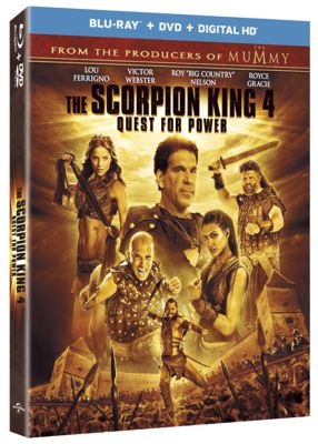 The Scorpion King 4 Quest For Power DVD