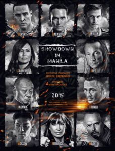 Showdown in Manila (2015) Poster