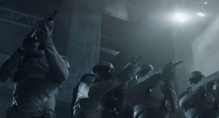 The Hunger Games Mockingjay Bullpup Guns