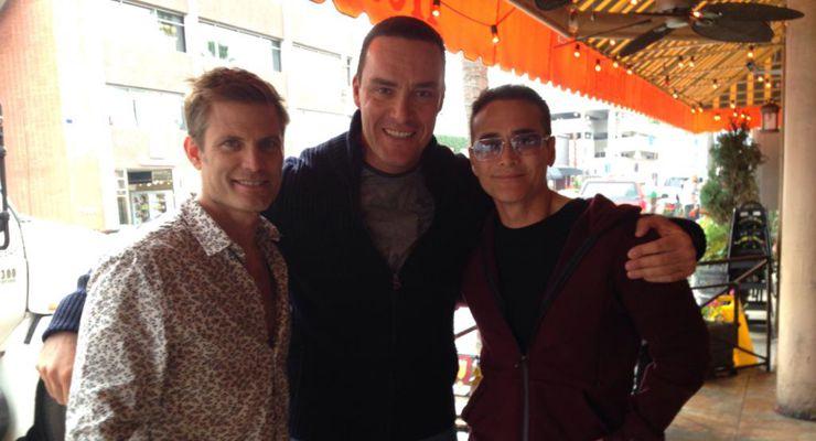 Casper Van Dien, Alexander Nevsky and Mark Dacascos