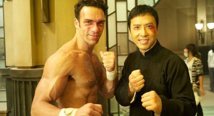 "Darren Shahlavi and Donnie Yen ""Ip Man 2"