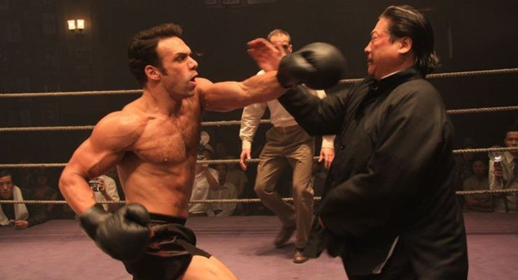 "Darren Shahlavi and Sammo Hung in ""Ip Man 2"