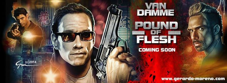 Darren Shahlavi in Pound of Flesh from illustrator Gerardo Moreno