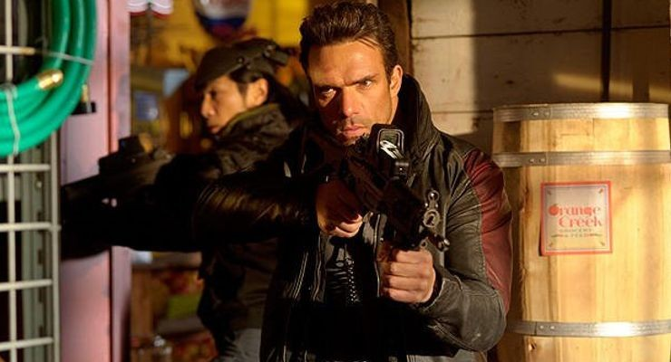 "Darren Shahlavi in ""The Package"" 2013"