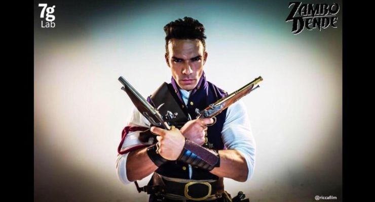 Darren Shahlavi as Pistols in Zambo Dende.