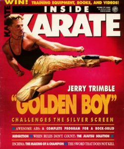 Jerry Trimble Jr. Inside Karate