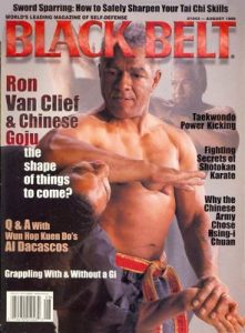 Ron Van Clief on Black Belt Magazine
