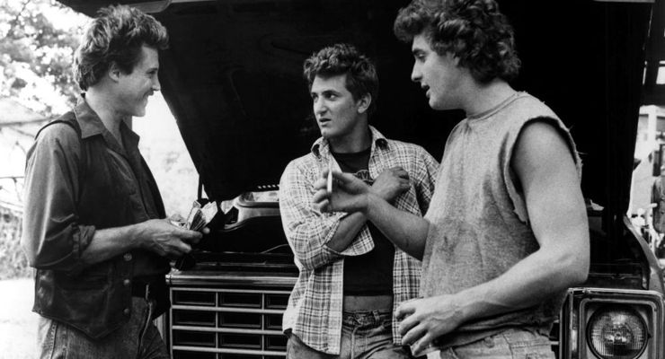 Christopher Walken, Sean Penn, Chris Penn in At Close Range