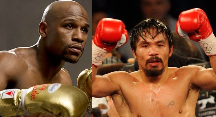 Mayweather vs Pacquiao Showtime and HBO Team