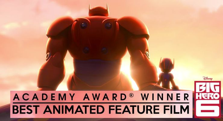 Big Hero 6 Wins Best Animated Film at the Academy Awards