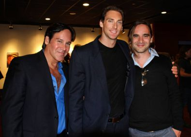 """The Toy Soldiers"" Premier at the Hollywood ArcLight with Photographer, Mark Picascio and leading actor, Nick Frangione."