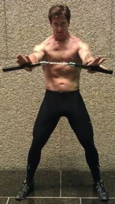 Craig Robert Bruss with Nunchaku
