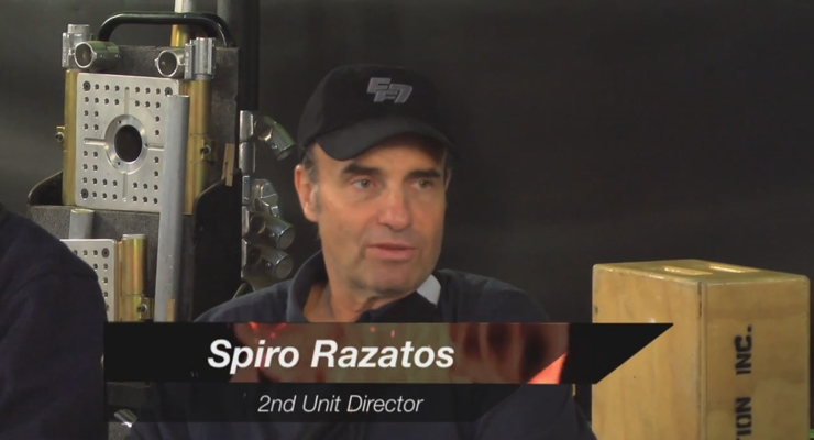 Hollywood Action Masters - Interview with Furious 7's Spiro Razatos