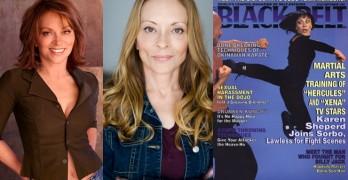 Karate Diva Karen Sheperd