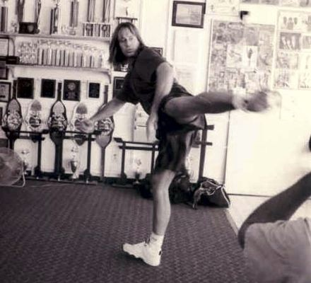 Kevin Sorbo Training at White Lotus Studio Northridge, CA