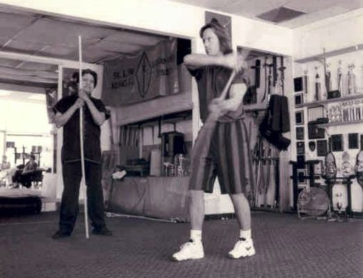 Kevin Sorbo Training with Douglas Wong for Hercules