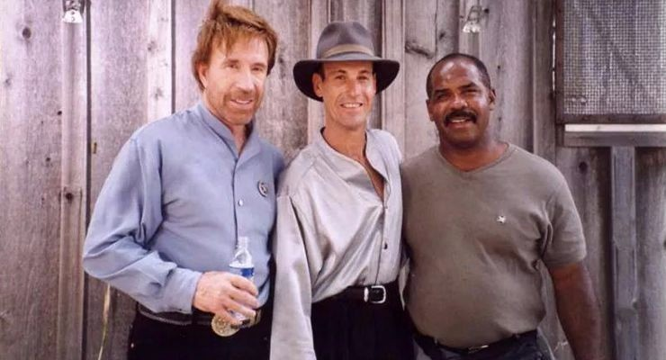 Chuck Norris, Steven Lambert, and Howard Jackson