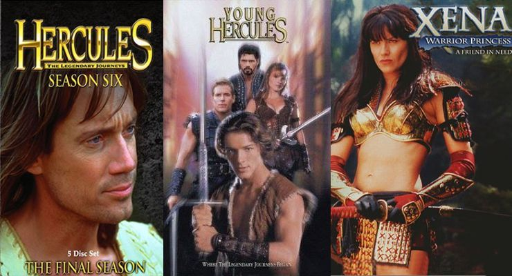 Douglas Wong Trained Stars: Hercules and Xena