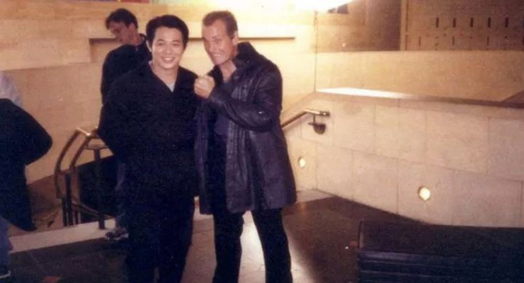 The One star Jet Li with Steven Lambert