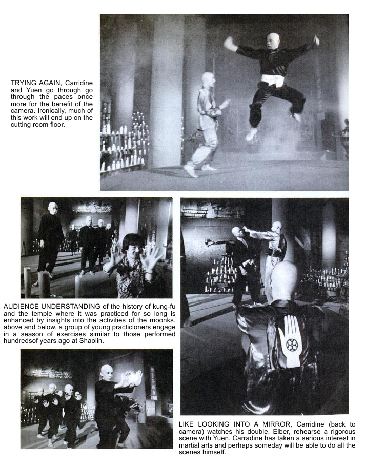 Photos from the Kung-Fu TV Series